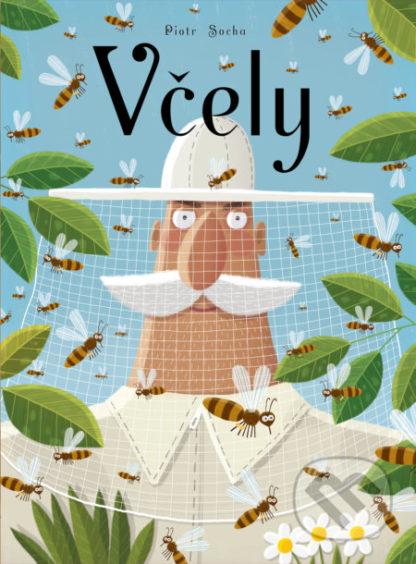 Piotr Socha Včely - veľkoformátové knihy